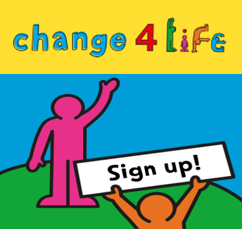Change for Life logo